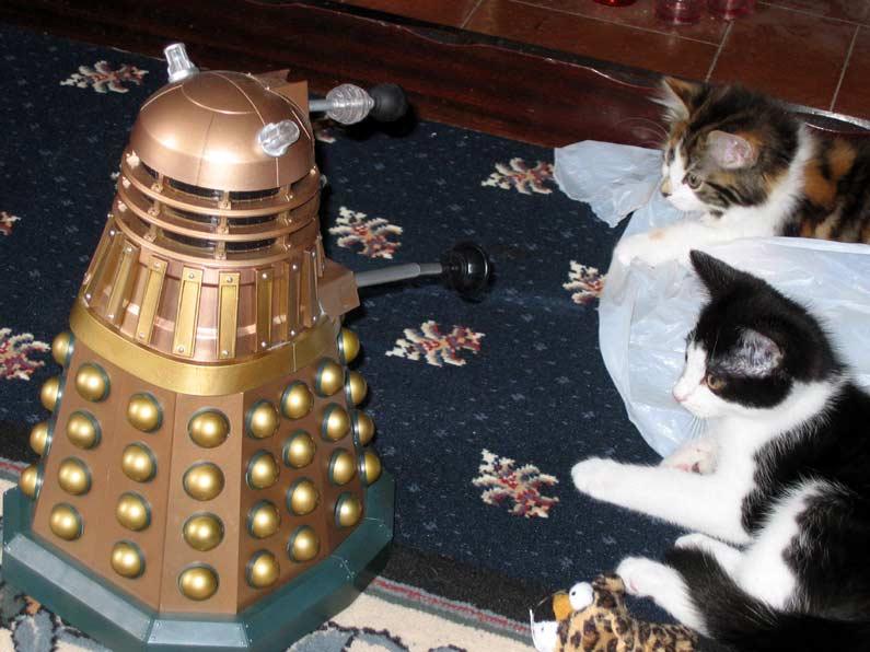 Dalek invasion living room